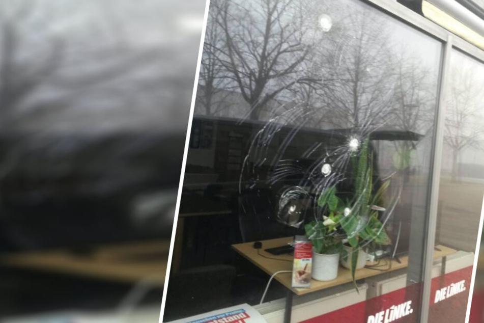 Bereits das zweite Mal: Wieder Anschlag auf Bürgerbüro von Linken-Politikern in Leipzig