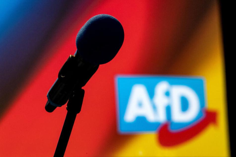AfD geht gegen antirassistisches Schild am Frankfurter Römer vor