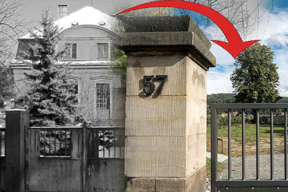 Denkmal-Frevel vor Gericht! Dresdner ließ diese Villa einfach illegal wegbaggern