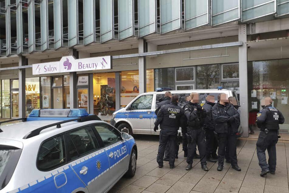 Die GGG ließ das Rosenhof-Büro der selbsternannten Künstlertruppe am Nachmittag räumen.