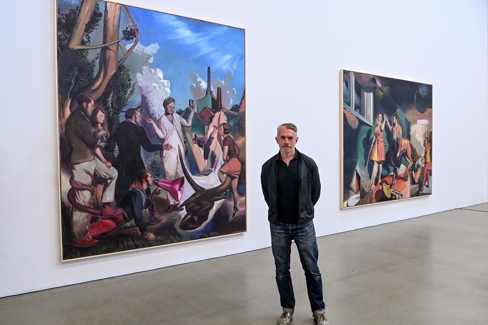 Der Leipziger Künstler Neo Rauch stellt vom 6. September bis 28. November in Leipzig aus.