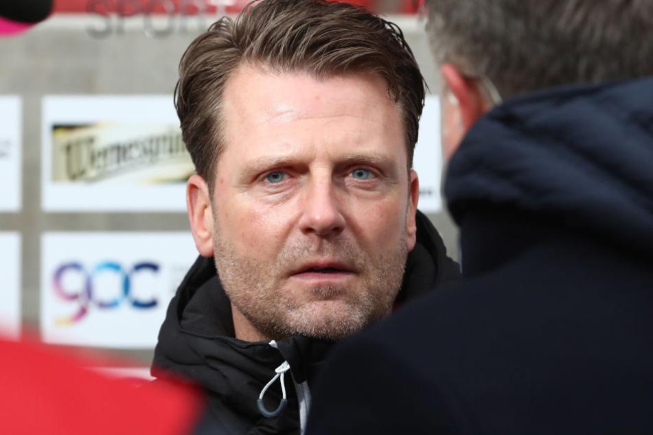 FCH-Trainer Rico Schmitt hat die Entschuldigung von Davy Frick angenommen.
