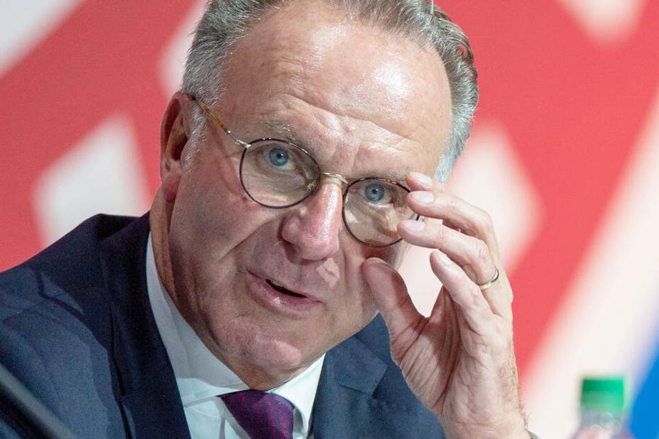 Karl-Heinz Rummenigge kündigte einmal mehr weitere Neuzugänge an.