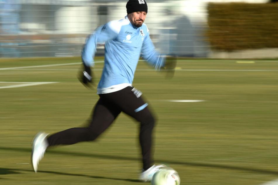 Timo Gebhart hat eine Vergangenheit beim TSV 1860 München.