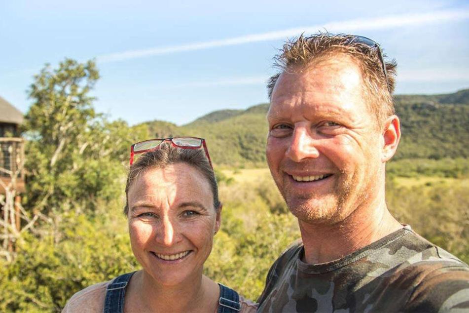 Bieten Tauch-Abenteuer vor der Küste Südafrikas an: Rainer und Silke Schimpf