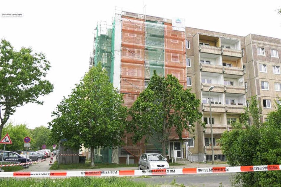 Drei Wohnhäuser mussten evakuiert werden, nachdem die Handgranate bei Bauarbeiten gefunden worden war.