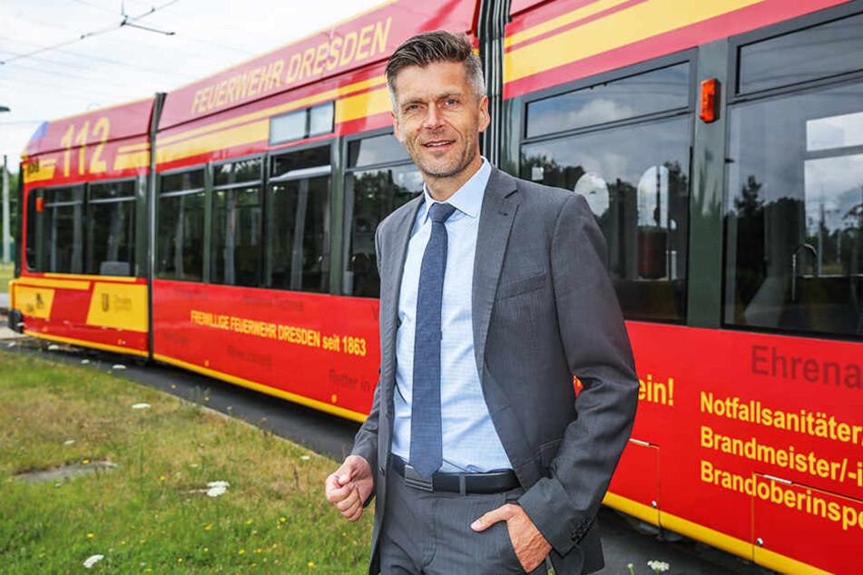 DVB-Vorstand Lars Seiffert (49) hat viele freie Stellen zu besetzen.