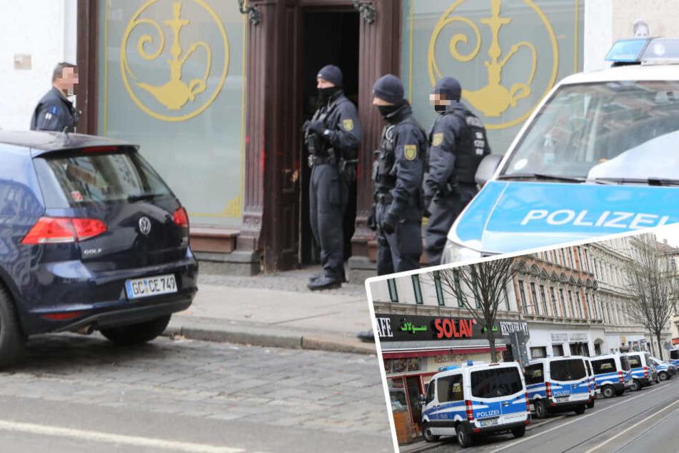 Razzia in Shisha-Bar: Schon wieder Polizeieinsatz auf der Eisenbahnstraße!