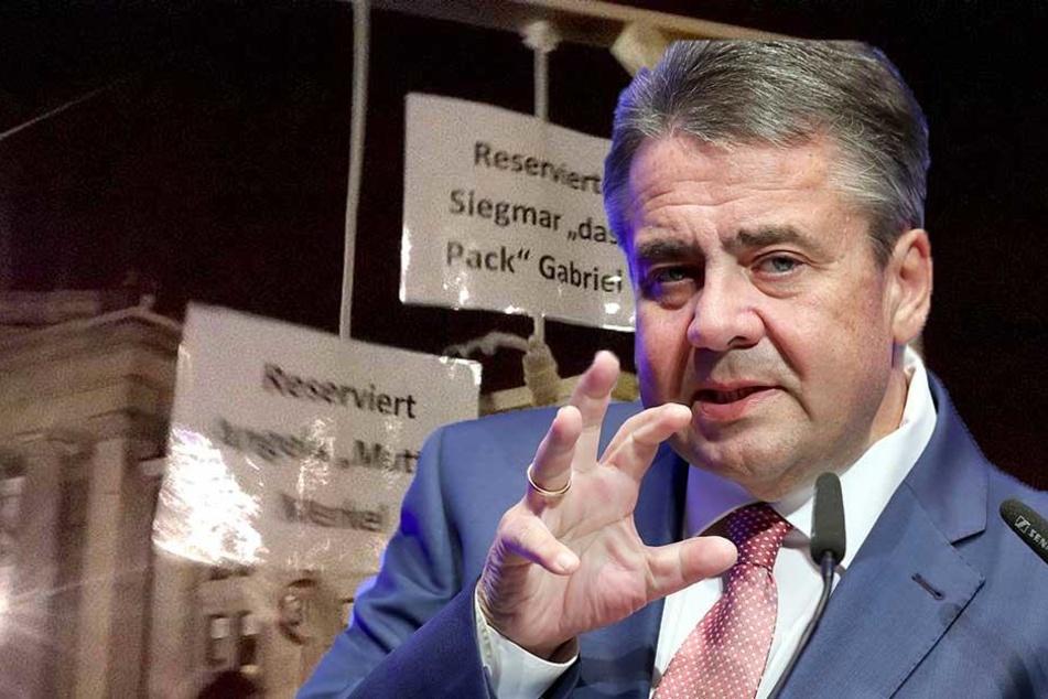 Sigmar Gabriel bringt PEGIDA-Galgen wieder vor Gericht