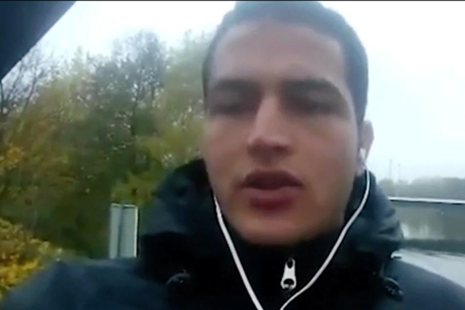 Anis Amri auf dem Bekennervideo.