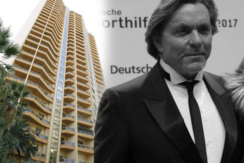 Otto Kern ist womöglich aus dem zehnten Stock eines Appartmentkomplexes in Monte Carlo gestürzt.