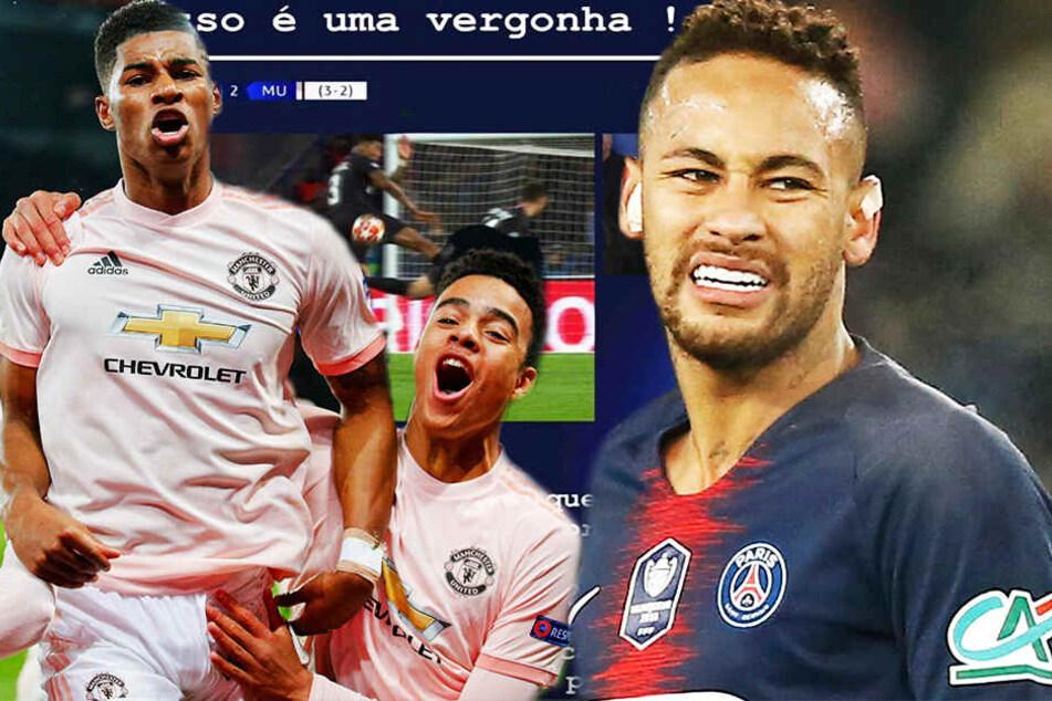 """Dramatisches Paris-Aus in der Champions League! Neymar stocksauer: """"Ach, f*ckt euch!"""""""