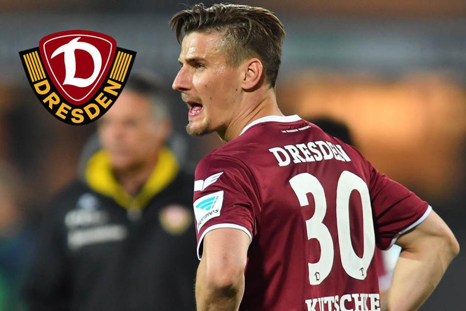 """""""Abend zum Vergessen"""": Kutschke nach Dynamo-Niederlage sauer"""