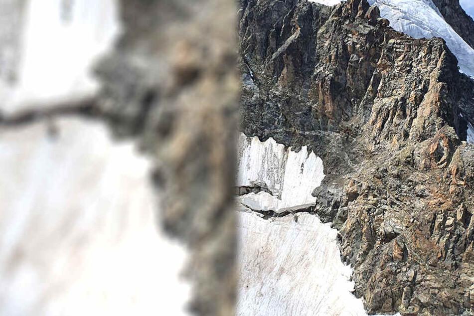 Unangeseilt wollten die Kletterer die übliche Route über den Eselsgrat wählen.