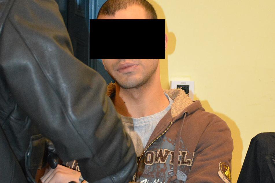 Der Deutsch-Pakistani Imran-Ali S. (22) ist einer der drei Angeklagten im  Himmelfahrts-Prozess.