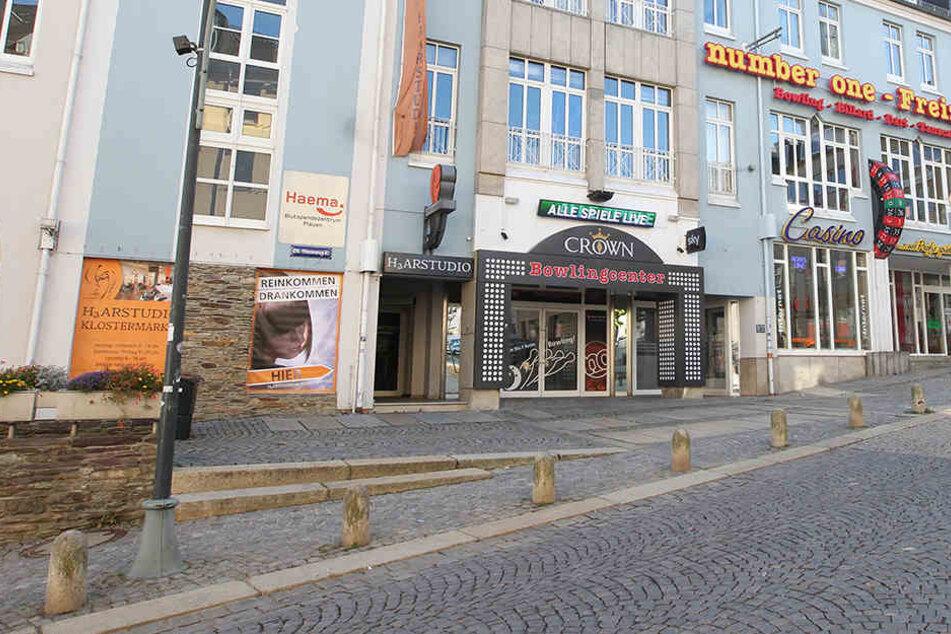 Bei dem Angriff auf den Club in Plauen wurden fünf Besucher verletzt.