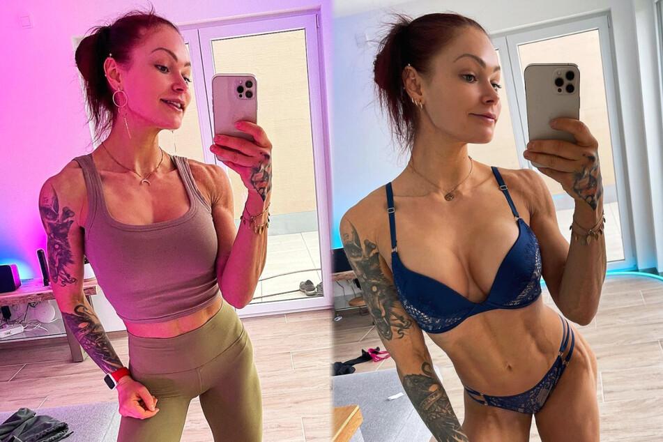 Sexy Fitness-Influencerin spricht über Geld und ihren Körper