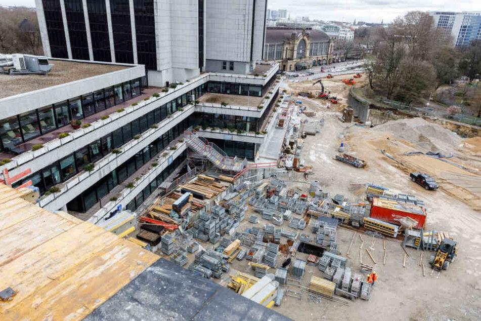 Die Anbindung des Congress Centrums Hamburg an den Dammtorbahnhof wird neu gestaltet.