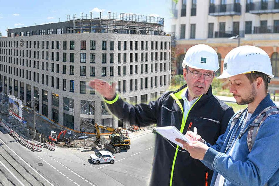 "Dresdens schönster Neubau: Erster Blick ins ""Uhrenhaus"" am Postplatz"