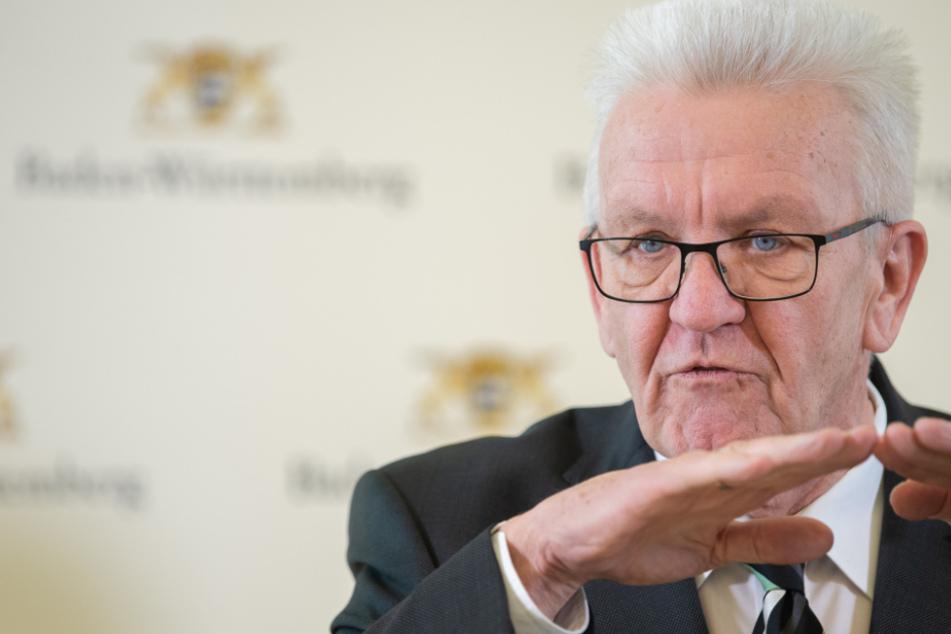 """Kretschmann: """"Spekulationen um Lockerung der Corona-Beschränkungen verbieten sich!"""""""