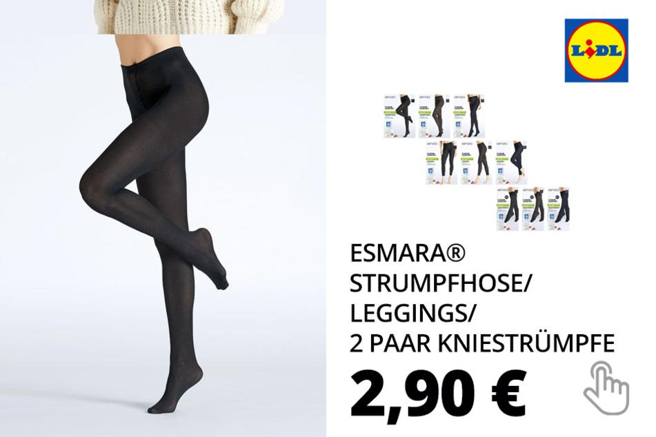 ESMARA® Strumpfhose/Leggings/2 Paar Kniestrümpfe