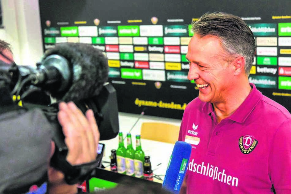 Den Medien gegenüber tritt Uwe Neuhaus in jüngster Vergangenheit viel offener entgegen. Ein Lächeln hat er eigentlich immer auf den Lippen.