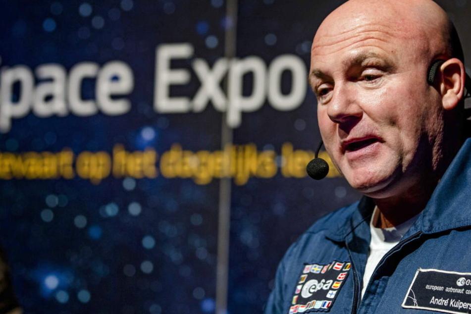 André Kuipers rief aus dem Weltall den Notruf an.