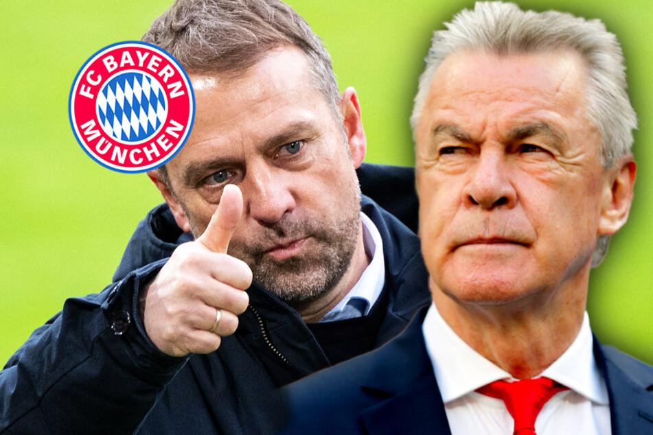 """Ex-Bayern-Trainer Hitzfeld lobt Flick: """"Historisches geleistet"""""""