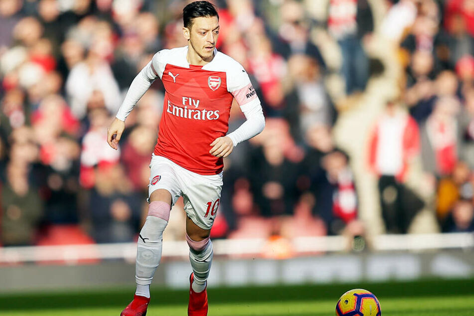 Mesut Özil stand beim Auswärtsspiel des FC Arsenal London bei West Ham United (0:1) nicht im Kader.