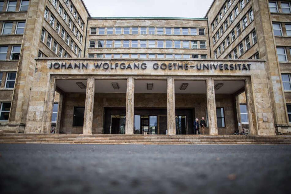 Studierende der Goethe-Universität in Frankfurt mussten evakuiert werden.
