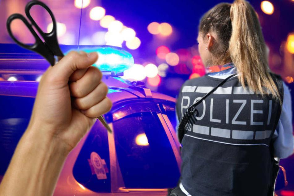 Angriff mit Schere: Polizistin schießt 45-Jähriger in Aachen ins Bein