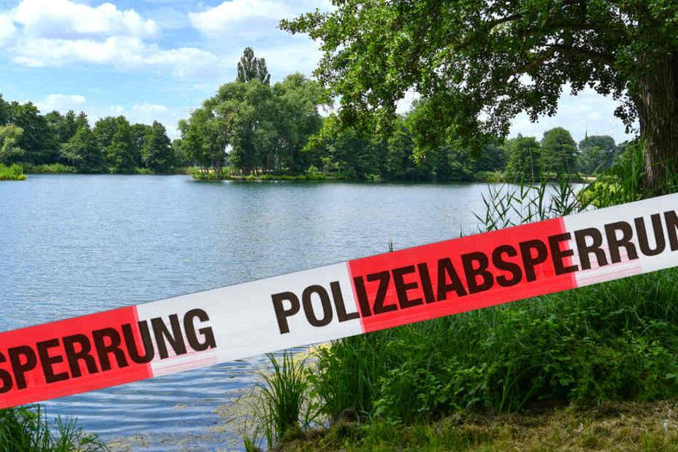 Im Döllnitzsee in Wermsdorf bei Leipzig wurde am Montagnachmittag die Leiche eines vermissten 56-jährigen Mannes entdeckt. (Symbolbild)
