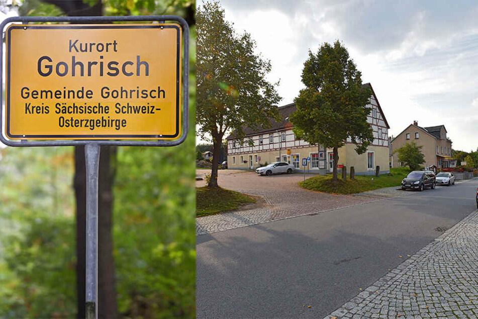 Wahl-Posse im Kurort Gohrisch.