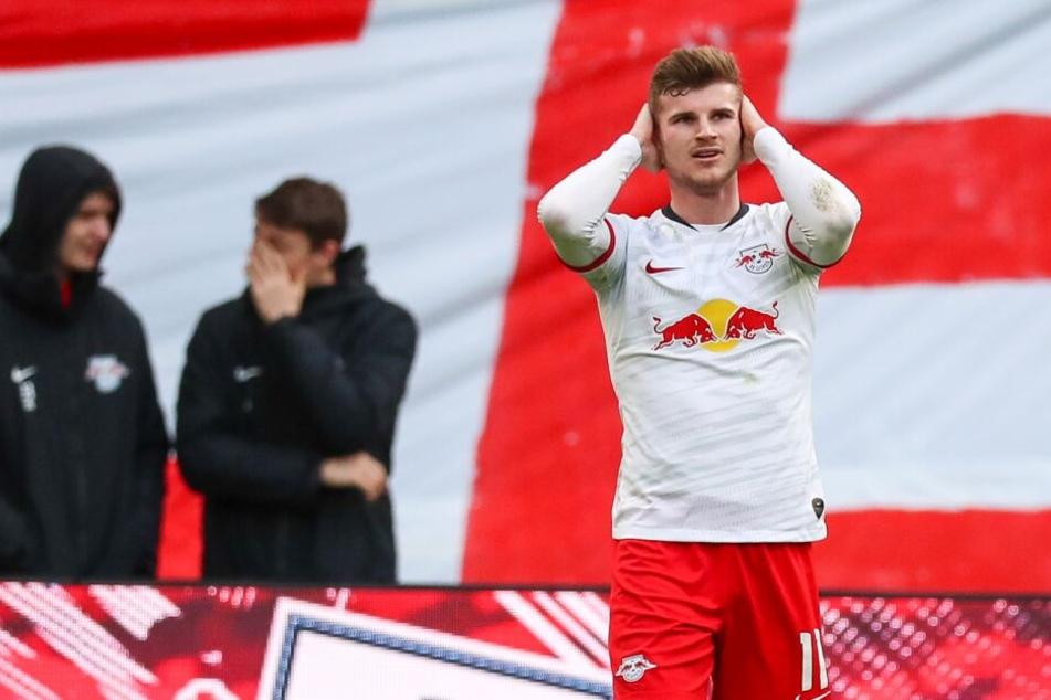 Gegen Leverkusen oftmals unglücklich: Torjäger Timo Werner.