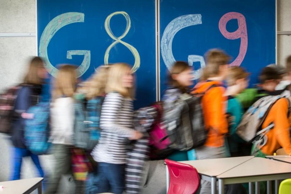In Zukunft dürfen die Schüler wieder ein Jahr länger das Gymnasium besuchen.