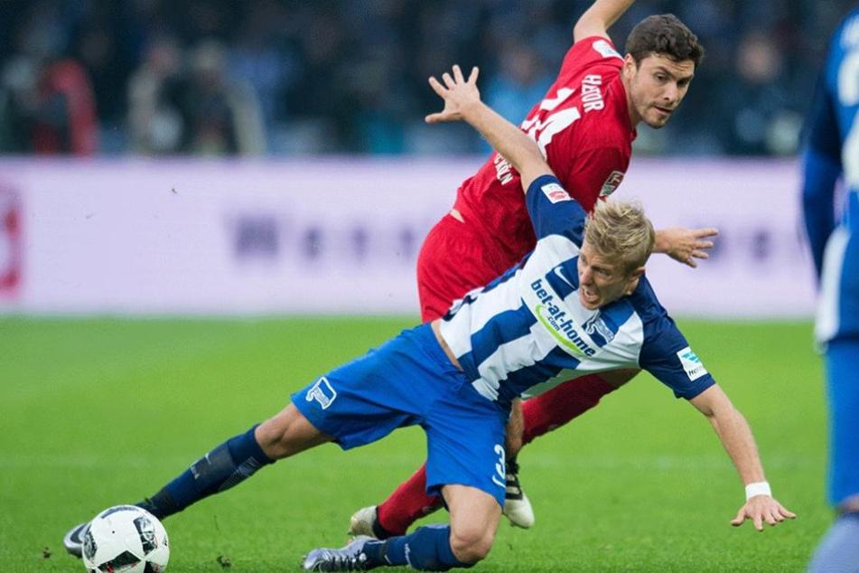 Ausgerechnet zum Saisonfinale wird Skjelbred der Hertha fehlen.
