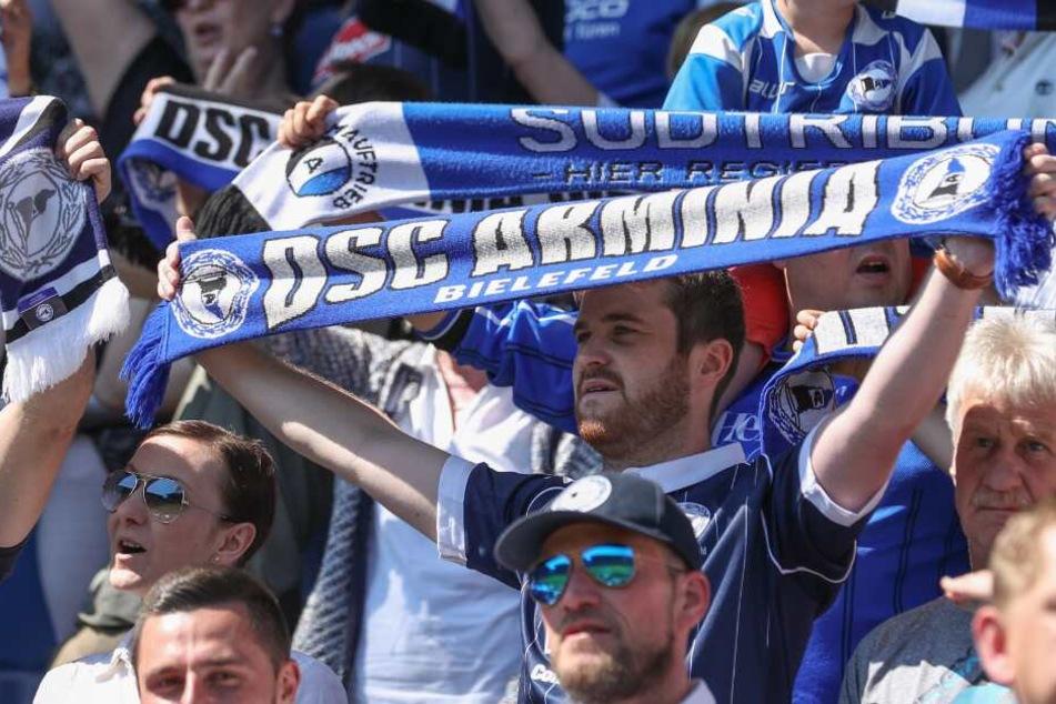 Viele Fans kamen vergangene Saison zu den Heimspielen des DSC.