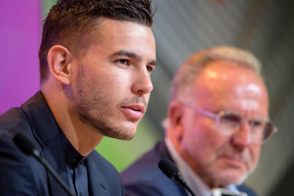 Lucas Hernández will im Dress des FC Bayern München viele Titel sammeln.