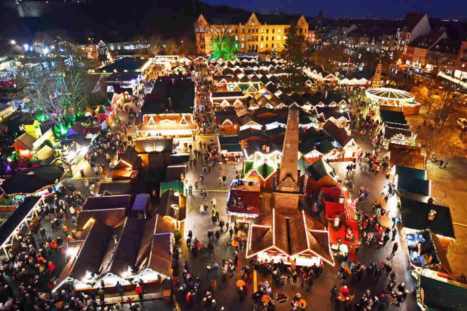 Heute werden in Erfurt und Weimar die Weihnachtsmärkte eröffnet!