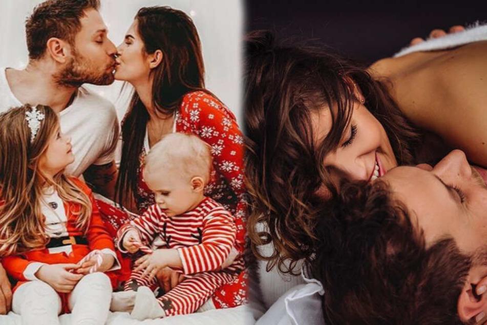 Isabel und Mimi Kraus sind seit 2014 verheiratet, haben zusammen drei Kinder und lassen ihre Fans an ihrem Familienglück teilhaben. (Fotomontage)