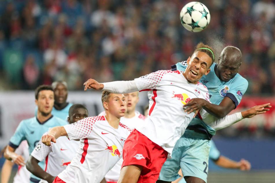 Mit 3:2 konnte RB Leipzig das Hinspiel gewinnen. Ein weiterer Erfolg würde Leipzig konkret vom Achtelfinale träumen lassen.
