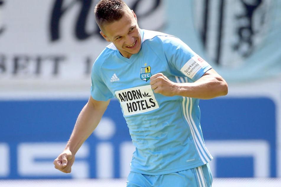Daniel Frahn bleibt beim Chemnitzer FC.