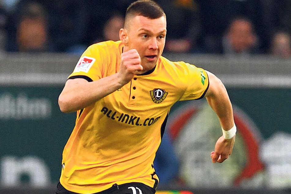 Antrtittsschnell und ballverliebt! Aucg dank dieser Eigenschaften steht Dynamos Haris Duljevic auf der Liste mehrerer Bundesligisten.