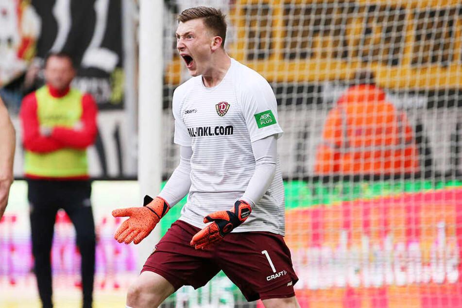 Markus Schubert wird seit der Winterpause mit Testspielgegner FC Augsburg in Verbindung gebracht, weilt aber momentan bei der deutschen U20-Nationalmannschaft.