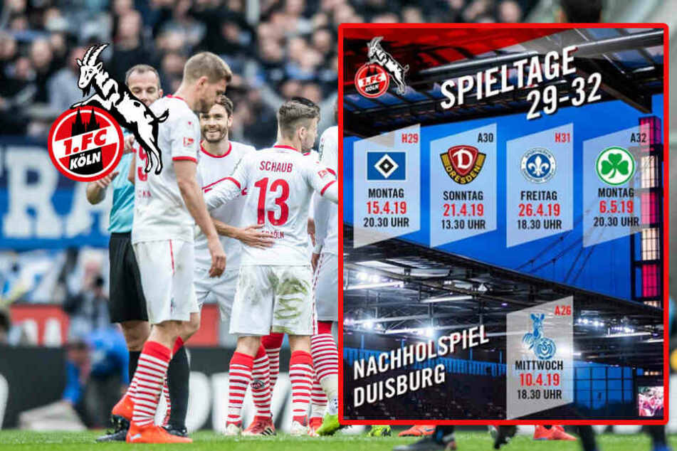 Restliche Termine für 1. FC Köln bekannt: Zwei Montagsspiele!