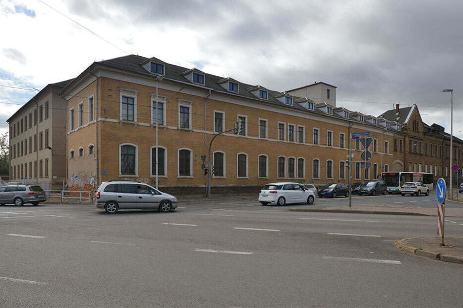 Platz für Investoren: das ehemalige Königliche Krankenstift in der Werdauer Straße.