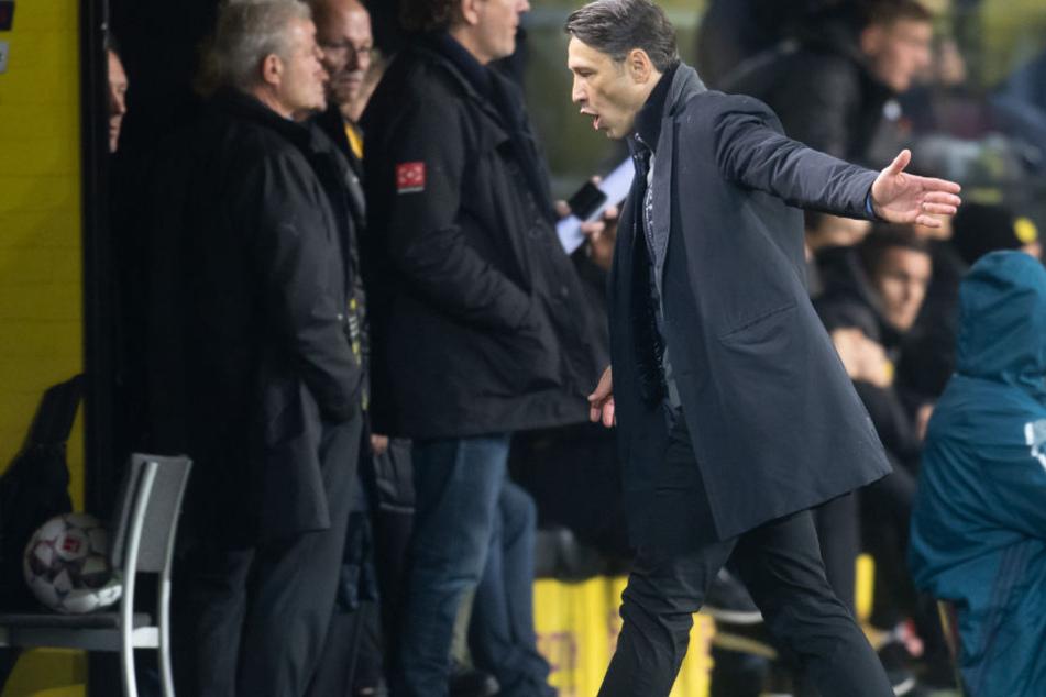 Bayern-Trainer Niko Kovac hatte Mats Hummels trotz Erkrankung aufgeboten.