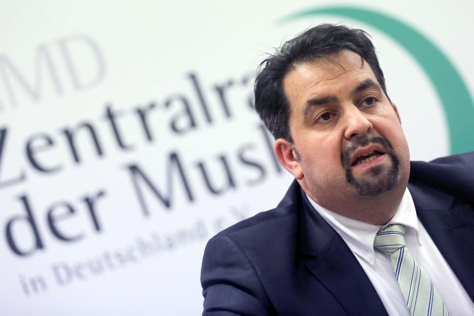 Amin Mazyek, Vorsitzender des Zentralrats der Muslime, wird bedroht.