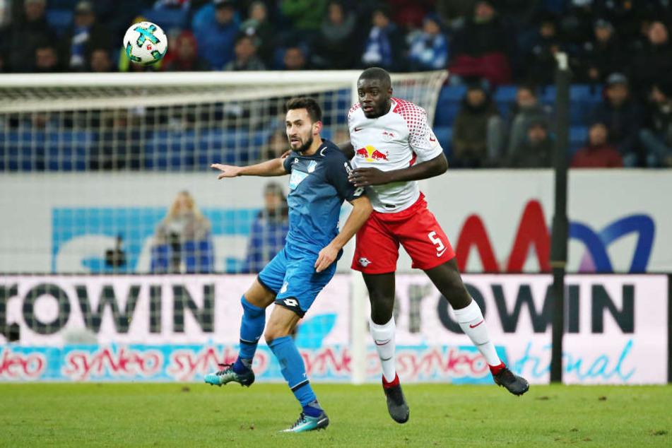 Dayot Upamecano erlitt gegen Hoffenheim eine Muskelfaserverletzung.