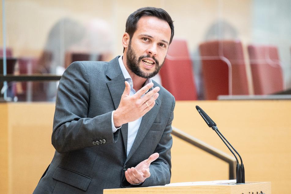 Martin Hagen (40), Fraktionsvorsitzender der FDP im Bayerischen Landtag.